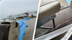 Sốc vì cửa máy bay bật mở khi chuẩn bị cất cánh