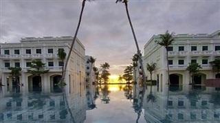 Xôn xao bể bơi 'view triệu đô' mới toanh tại Phú Quốc