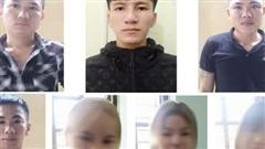 4 nam thanh niên cùng 3 thiếu nữ 'bay lắc' ma túy trong quán karaoke