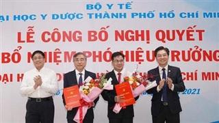 Bộ Y tế nói gì vụ thu hồi QĐ bổ nhiệm 2 Phó Hiệu trưởng ĐH Y Dược TP.HCM?