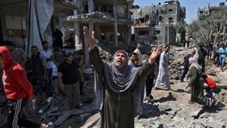Giao tranh Israel-Palestine: Mỹ gửi hàng viện trợ cho Palestine, Ngoại trưởng Iran hủy chuyến công du do Áo treo cờ Israel