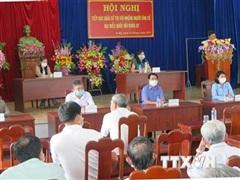 Cử tri Phú Yên đánh giá cao chương trình hành động của các ứng viên