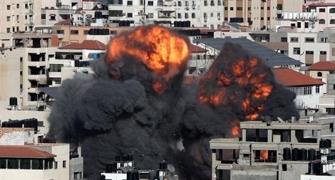 Ngày đẫm máu thảm khốc trong cuộc giao tranh tại Dải Gaza