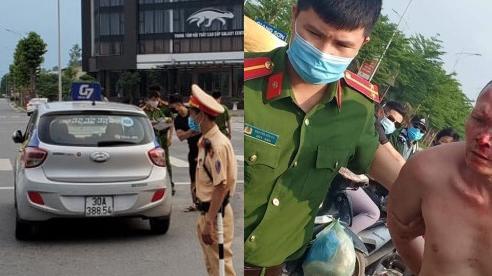 Bắt tên cướp taxi manh động cầm dao chém người tại Hà Nội