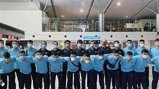 Đội tuyển Futsal Việt Nam lên đường sang UAE thi đấu 2 lượt trận play-off
