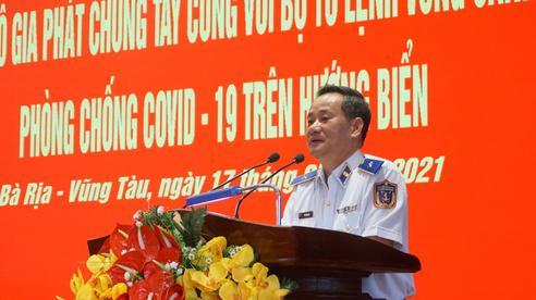 Chung tay cùng lực lượng Vùng Cảnh sát biển 3 phòng, chống dịch bệnh COVID-19