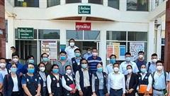 Đoàn chuyên gia y tế Việt Nam hỗ trợ Lào dập dịch Covid-19
