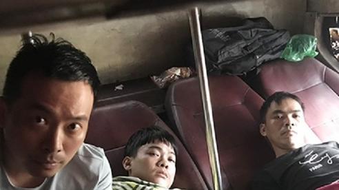 5 người Trung Quốc trốn trong hầm xe khách Bắc Giang vào TP.HCM
