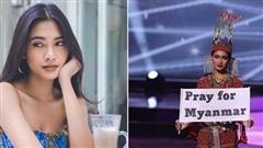 Hoa hậu Hoàn Vũ Myanmar không biết về đâu sau khi cuộc thi Miss Universe kết thúc