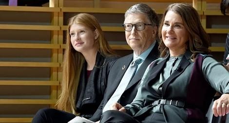 Con của tỷ phú Bill Gates thừa hưởng bao nhiêu sau khi cha mẹ ly hôn?