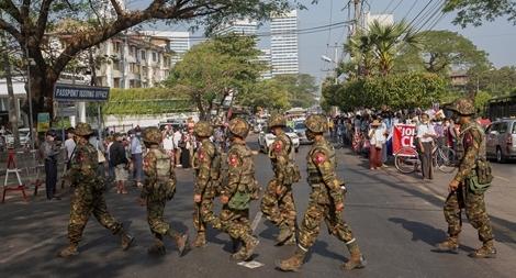 Hơn 800 người thiệt mạng trong các cuộc biểu tình tại Myanmar