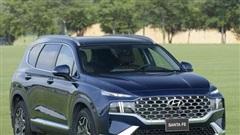 Hyundai Santa Fe 2021 ra mắt tại Việt Nam, giá từ 1,03 tỉ đồng