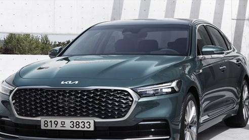 Hyundai tiết lộ hình ảnh ban đầu của mẫu xe Kia K9