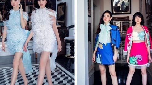 Hai nàng hậu 10X Lương Thùy Linh và Đỗ Hà nhan sắc khác lạ, 'đọ' chân dài cực phẩm