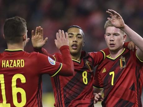 Đội tuyển Bỉ công bố danh sách tham dự vòng chung kết EURO 2020