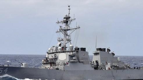 Lại điều tàu chiến qua Eo biển Đài Loan, Mỹ nói sẽ tiếp tục hoạt động ở bất cứ đâu theo luật quốc tế