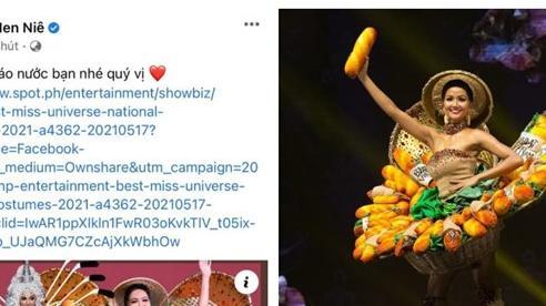 H'Hen Niê vẫn lọt bảng xếp hạng Quốc phục gây bất ngờ nhất lịch sử Miss Universe