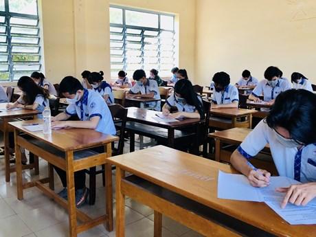 Cần Thơ: 10.000 học sinh lớp 12 hoàn tất khảo sát chất lượng sớm