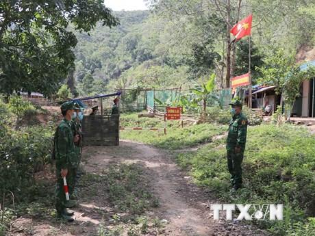 Lực lượng biên phòng Hà Giang đảm bảo an ninh biên giới Ngày Bầu cử