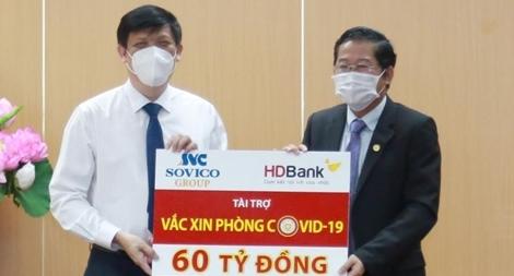Sovico Group và HDBank ủng hộ 60 tỷ đồng cho chương trình vaccine phòng COVID-19