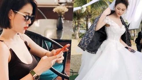 Lương Thu Trang ngập hoa trong sinh nhật, lộ ảnh Minh hh mặc váy cưới trong Hướng dương ngược nắng