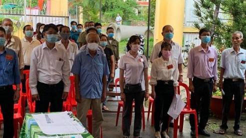 Kiên Giang: Thành phố Hà Tiên có 97,44% cử tri đi bầu cử