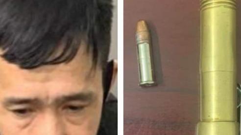 Cảnh sát Hà Nội bắt giữ người đàn ông có mang súng bút