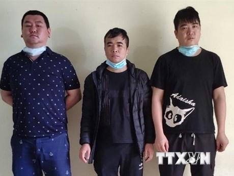 Cao Bằng: Phát hiện 3 công dân nước ngoài tìm cách xuất cảnh trái phép