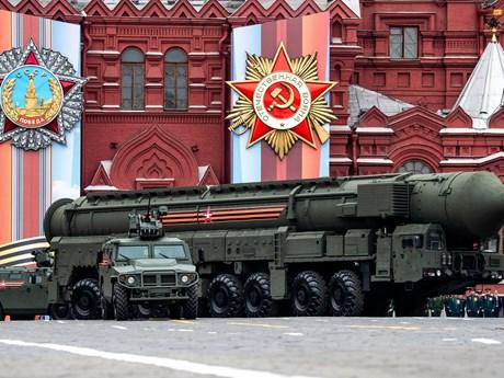 Moskva công bố số lượng vũ khí tấn công chiến lược của Nga và Mỹ