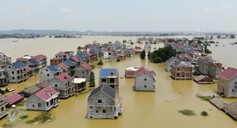 71 sông vượt cảnh báo, Trung Quốc báo động lũ lớn