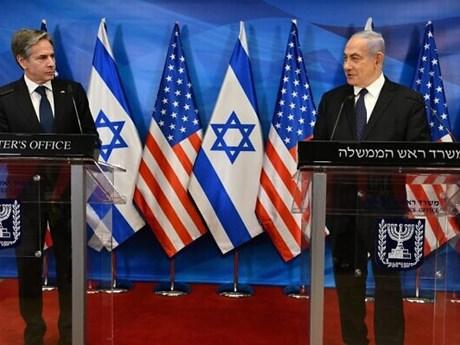 Mỹ ủng hộ giải pháp hai nhà nước cho cuộc xung đột Israel-Palestine