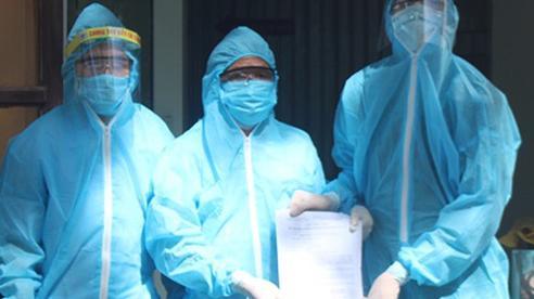 Ca mắc COVID-19 ngoài cộng đồng đầu tiên ở Nghệ An xuất viện