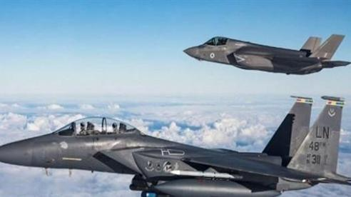 Bao giờ F-35 che chắn được F-15?