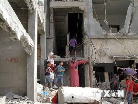 Ukraine và Nga sơ tán hàng chục công dân khỏi Dải Gaza