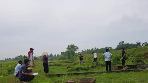 Hàng trăm ngôi mộ ở Thái Bình bị kẻ xấu khoan lỗ