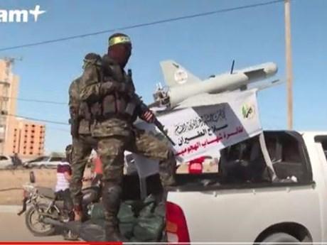 Dàn phóng rocket, máy bay không người lái hiện đại của Hamas