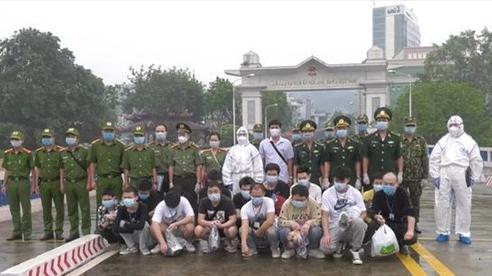 Trao trả 16 công dân Trung Quốc nhập cảnh trái phép