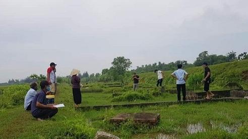 Xử lý thế nào vụ hàng trăm ngôi mộ tại Thái Bình bị đâm thủng?