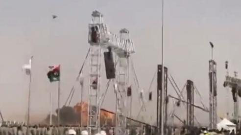 Video tiêm kích MiG-21 bất ngờ lao xuống đất nổ tung ở Lybia