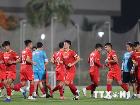 Vòng loại World Cup: Việt Nam sẵn sàng cho trận giao hữu với Jordan