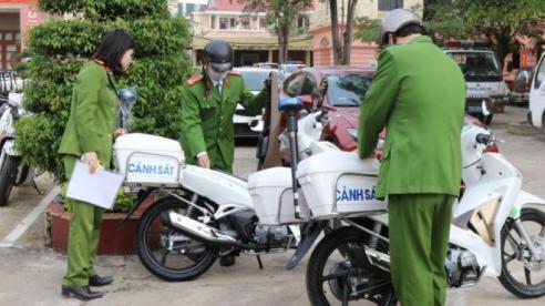 Hai xe máy chuyên dụng bị mất trộm ngay trong trụ sở công an phường