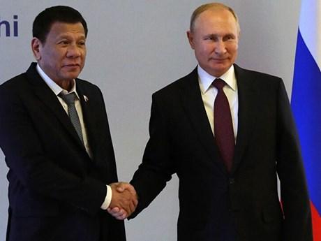 Lãnh đạo Nga, Philippines điện đàm thảo luận về quan hệ song phương