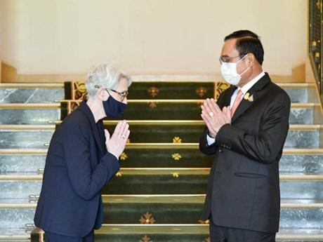 Mỹ và Thái Lan cam kết tiếp tục xây dựng quan hệ hợp tác vững mạnh