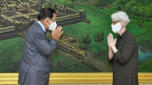 Thứ trưởng Ngoại giao Mỹ đến Campuchia: Căn cứ hải quân Ream được nhắc tên