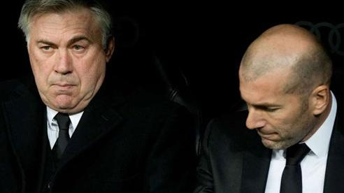 Ancelotti trở lại Real và lời cảnh báo từ Zidane