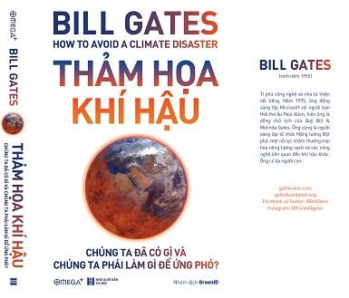 'Thảm họa khí hậu' - cuốn sách mới nhất của Bill Gates
