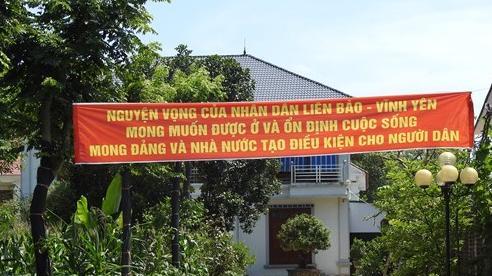 TP Vĩnh Yên, Vĩnh Phúc: Người dân có nguyện vọng được an cư