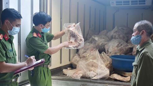 Ninh Bình: Bắt giữ 850kg thịt lợn không rõ nguồn gốc