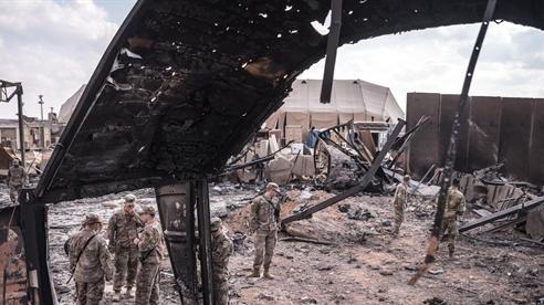 Mỹ vật lộn với lực lượng ủy nhiệm của Iran