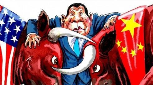 Thế kẹt của Philippines trong cuộc đối đầu Mỹ-Trung